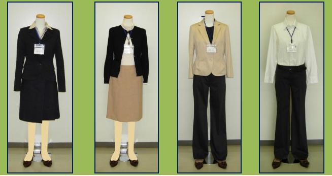 春秋の公務員女性はどんな服装?